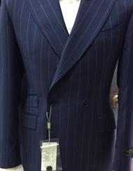 Brown Houndstooth Wool Suit