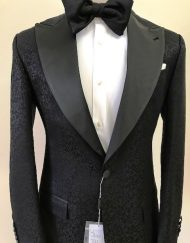 black single tuxedo