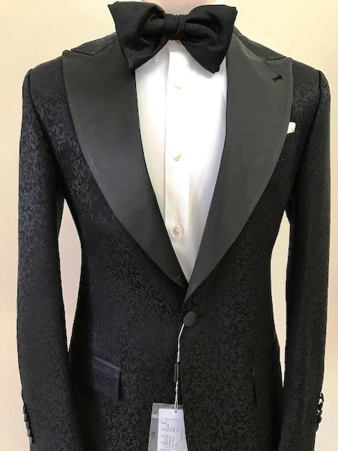 black single tuxedo